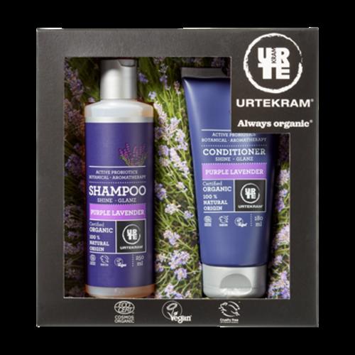 Urtekram Giftbox Shampoo-Conditioner Purple Lavender