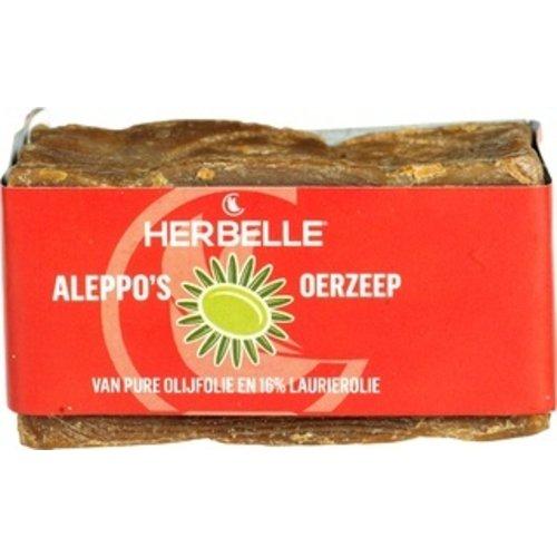 Herbelle Aleppo Oerzeep Olijfolie & Laurierolie