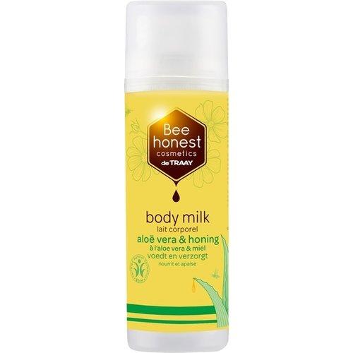 de Traay Bee Honest Bodymilk Aloë Vera & Honing 150 ml