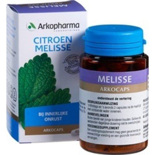 Arkopharma Citroen Melisse Voedingssupplement 45 stuks