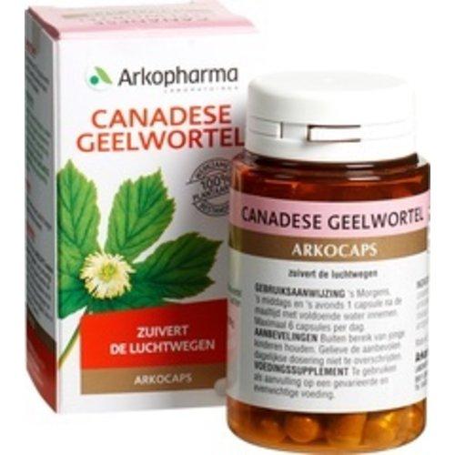 Arkopharma Canadese Geelwortel Voedingssupplement 45 stuks