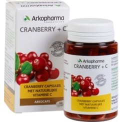 Cranberry + C Voedingssupplement 45 stuks