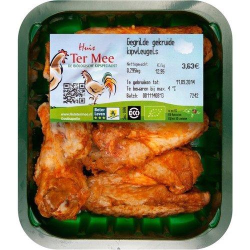 Huis Ter Mee Gegrilde Gekruide Kippenvleugels ca 300 gram