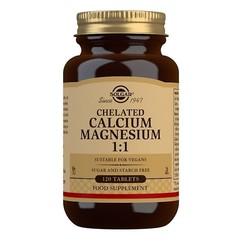 Chelated Calcium & Magnesium 1:1 120 stuks