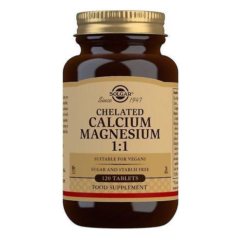 Solgar Chelated Calcium & Magnesium 1:1 120 stuks