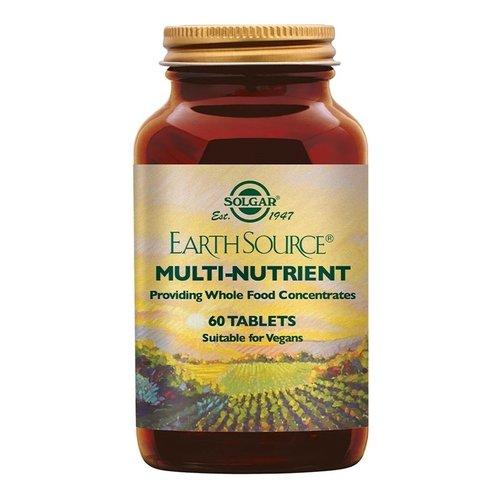 Solgar Earth Source Multi-vitaminen 60 stuks