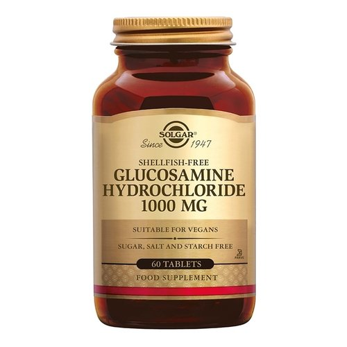 Solgar Glucosamine Hydrochloride 1000 mg 60 stuks