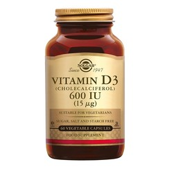 Vitamine D-3 15 µg 60 stuks