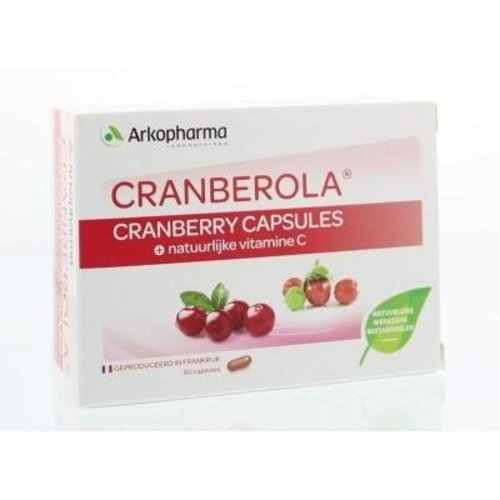 Arkopharma Cranberola Cranberry Capsules 60 capsules