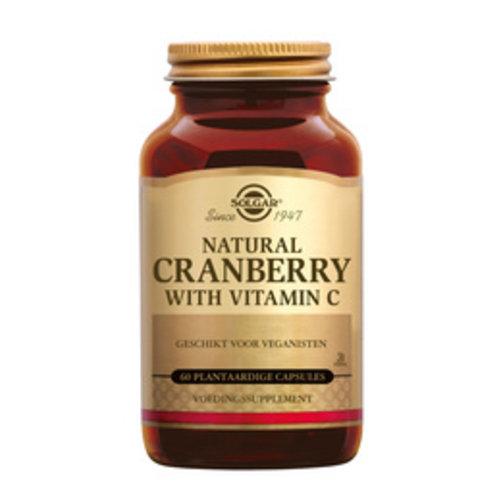 Solgar Cranberry met Vitamine C 60 capsules