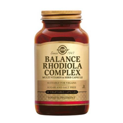Solgar Balance Rhodolia Complex 60 capsules