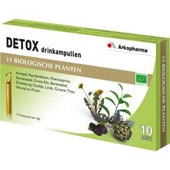 Detox Drinkampullen 10 ampullen