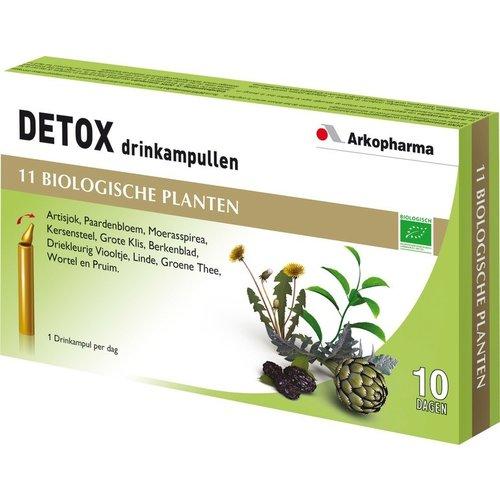 Arkopharma Detox Drinkampullen 10 ampullen