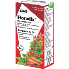 Floradix IJzer Tabletten 84 stuks