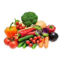 Grote Groente en fruittas 3-4 personen