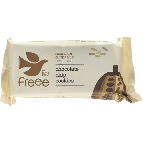 Freee by Doves Farm Chocolate Chip Cookies 180 gram
