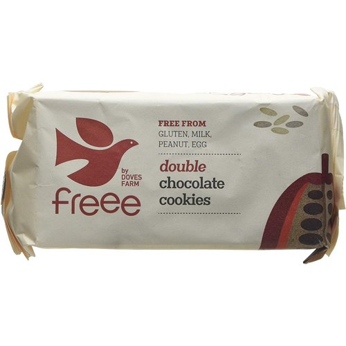 Freee by Doves Farm Double Chocolate Cookies 180 gram