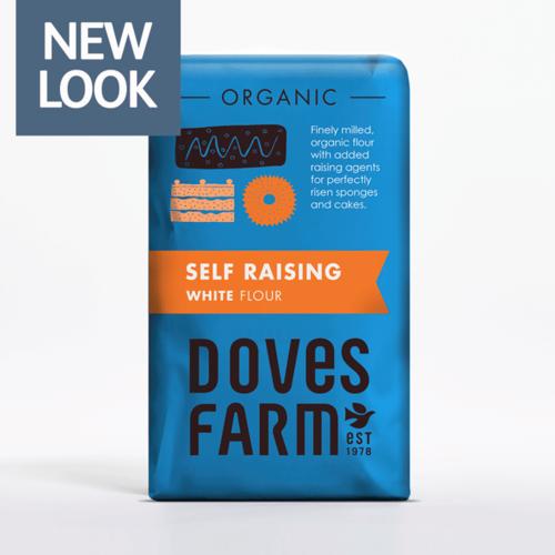 Doves Farm Zelfrijzend bakmeel 1kg
