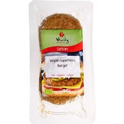 Vegan Superheld Burger