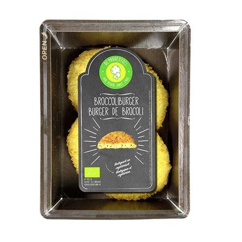 De Paddestoel Broccoliburger 2 x 90 gram