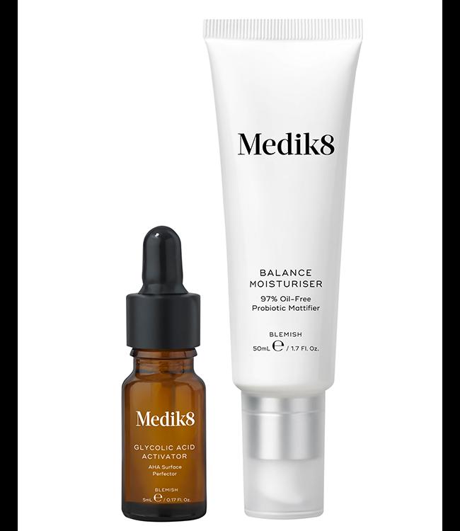 Medik8 | Balance Moisturiser & Glycolic Acid Activator