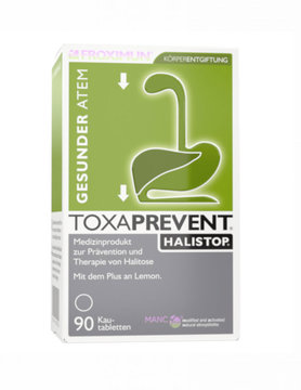 FROXIMUN Toxaprevent Halistop -Zeoliet kauwtabletten (90 tabs)