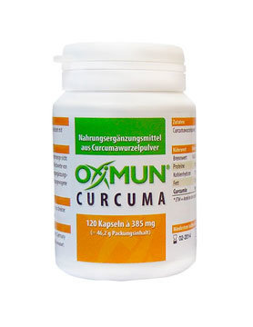 Oximun Kurkuma (120 capsules)
