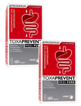 FROXIMUN Toxaprevent MEDI Pure - Zeoliet | 2 maanden kuur capsules (360 capsules)