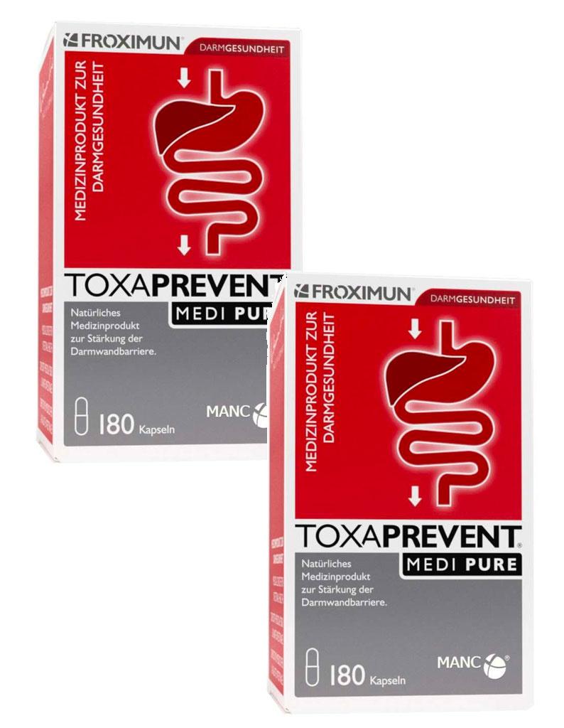 FROXIMUN Toxaprevent MEDI Pure | 2 maanden kuur capsules (360 capsules)