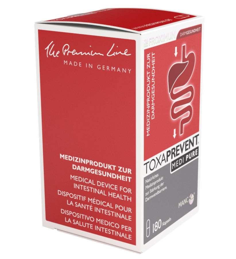 FROXIMUN Toxaprevent MEDI Pure | 3 maanden kuur capsules (540 capsules)