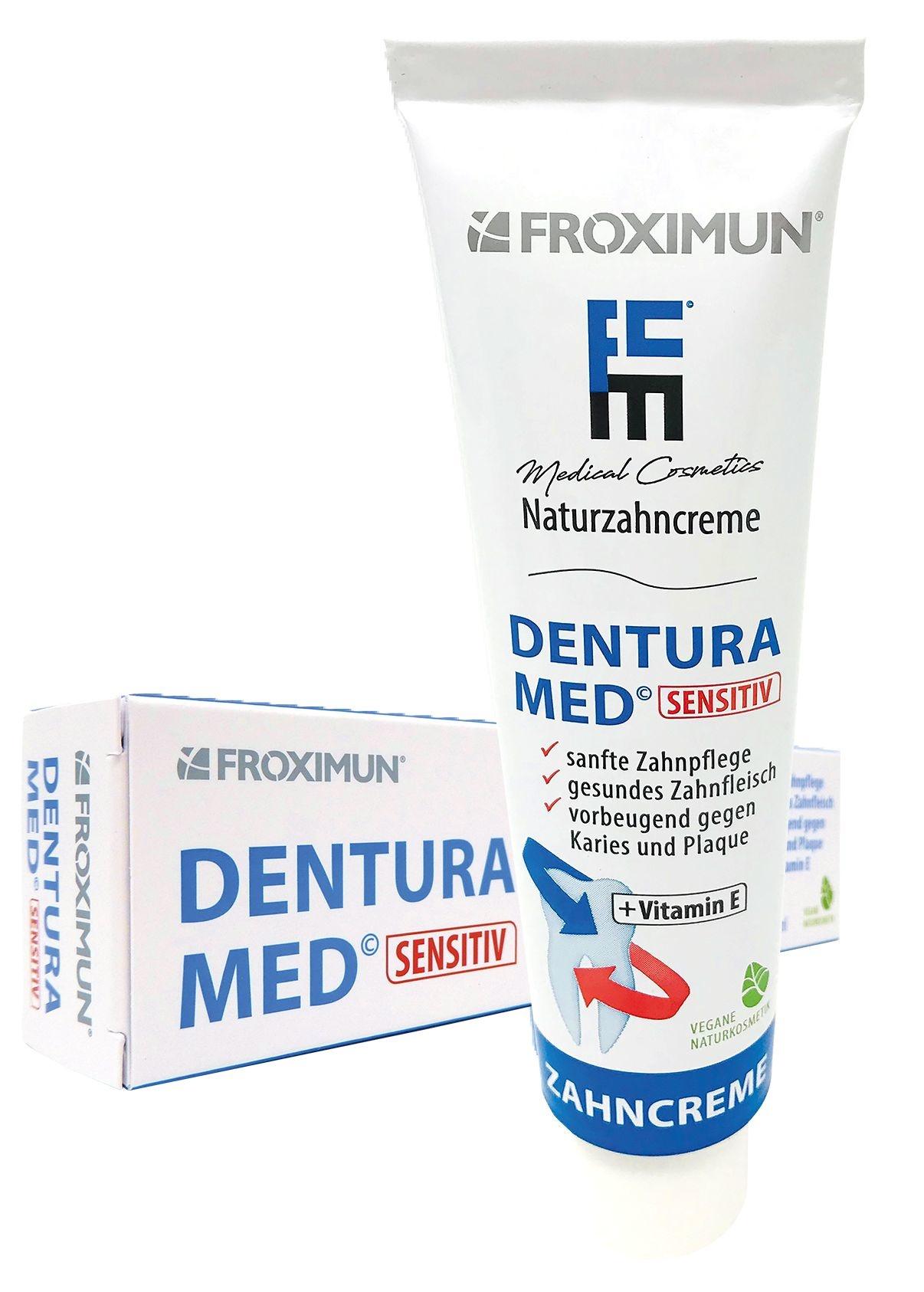 FROXIMUN Tandpasta DenTura met Manc (duoverpakking)