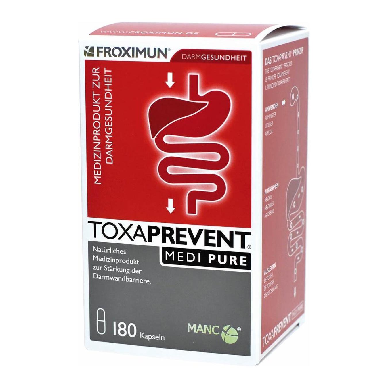 Toxaprevent Medi Pure (180 capsules)