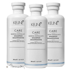 Keune Care Derma Exfoliate Shampoo 3x300 ml