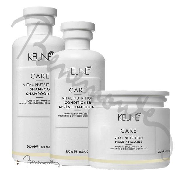 Keune Care Vital Nutrition verzorging voor droog poreus en beschadigd haar