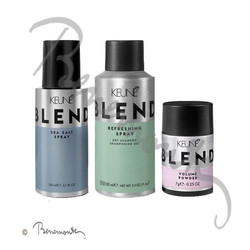 Keune Blend Powder, Refreshing spray en Sea Salt Spray
