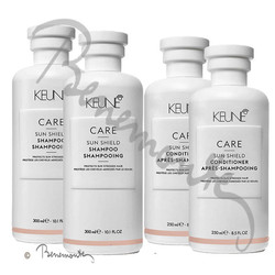 Keune CARE Sun Shield 2x shampoo en 2x conditioner
