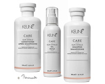 Keune Care Sun Shield Shampoo, conditioner en Sun Shield Oil