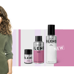 Keune Blend Salt mousse Volume powder en Gloss spray