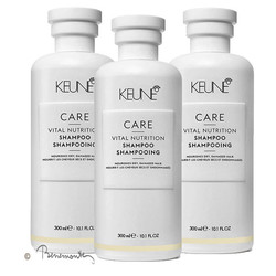 Keune CARE Vital Nutrition shampoo 3x300ml