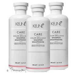 Keune CARE Color Brillianz shampoo 3x300ml