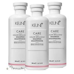 Keune CARE Color Brillianz shampoo 3x300ml