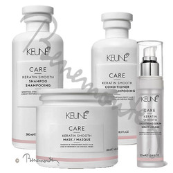 Keune CARE Keratin Smooth serie PLUS