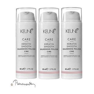 Keune CARE Keratin Smooth Control Silkening Polish 3x50ml