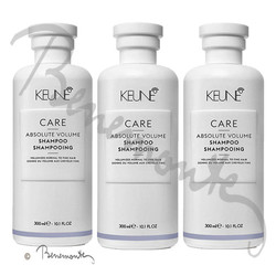 Keune CARE Absolute Volume Shampoo 3x300 ml