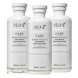Keune CARE Derma Activate shampoo 3x300ml
