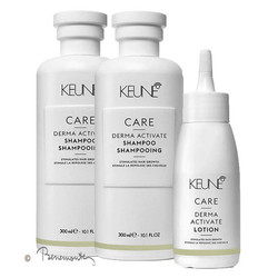 Keune CARE Derma Activate shampoo 2x300ml en 1 lotion