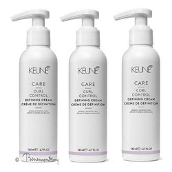 Keune CARE Curl Control Defining cream 3x140ml