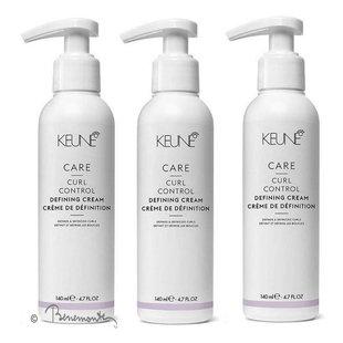 Keune CARE Curl Control Defining cream 3x140ml