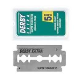 Derby double edge blade scheermesjes 5 st