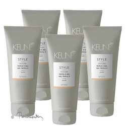 Keune Style Triple X Gel 5x200 ml